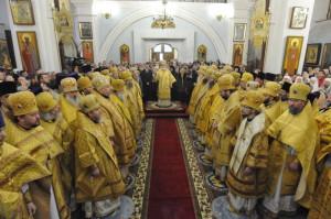 Первая литургия экзарха