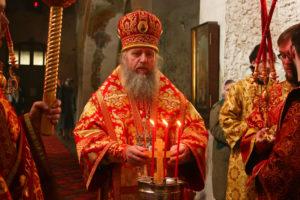 Архиепископ Витебский и Оршанский Димитрий посетил представительство Белорусского Экзархата в г. Москве