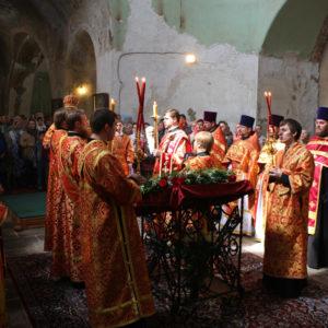 В день памяти св. великомученицы Ирины в Представительстве Белорусского Экзархата в г. Москве прошли торжественные мероприятия по случаю престольного праздника