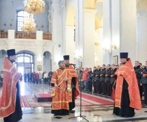 В Свято-Успенском кафедральном соборе города Витебска почтили память жертв чернобыльской катастрофы