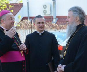 Архиепископ Димитрий встретился с Апостольским нунцием в Витебске