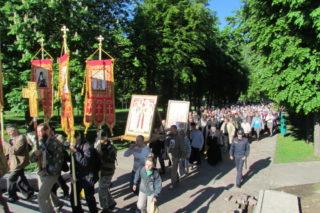 Из Могилева начал свой путь международный крестный ход