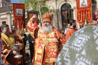 В храме великомученицы Ирины в Москве прошли престольные торжества