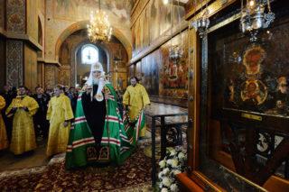 Слово Святейшего Патриарха Кирилла после вечернего богослужения в Софийском соборе Великого Новгорода