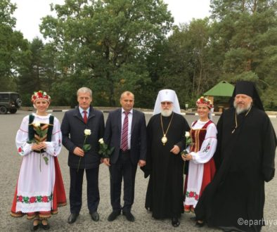 Патриарший экзарх всея Беларуси возглавил торжества по случаю 145-летия освящения Успенского соборе в городе Речице Гомельской области