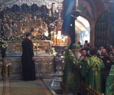 Архиепископ Димитрий принял участие в торжествах в Троице-Сергиевой лавре, посвящённых дню памяти преподобного Сергия Радонежского