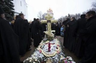 21.11.2017г.в Троице-Сергиевой Лавре молитвенно почтили память архимандрита Наума (Байбородина) на 40-й день по его преставлении
