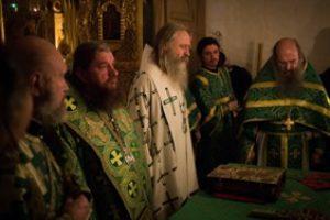 30 ноября Митрополит Астраханский Никон возглавил в Троице-Сергиевой лавре празднование дня памяти преподобного Никона Радонежского