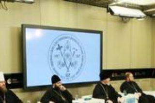 22.11.2017г.в Москве состоялась пресс-конференция, посвященная предстоящему Архиерейскому Собору Русской Православной Церкви