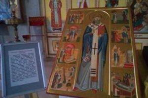 25 декабря в день памяти свт.Спиридона Тримифунтского архиепископ Димитрий совершил всенощное бдение в храме св.вмц.Ирины