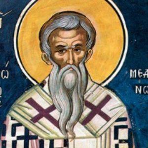 20 декабря.Святитель Амвросий Медиоланский.