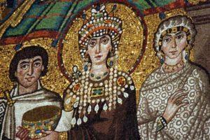 25 декабря в 15.00 лекция Ю. Матевеевой «Образы церкви в тканях на мозаиках Равенны»