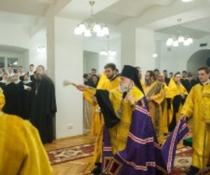 В Московской духовной академии воссоздана церковь святых великомучениц Варвары, Анастасии и мученицы Акилины