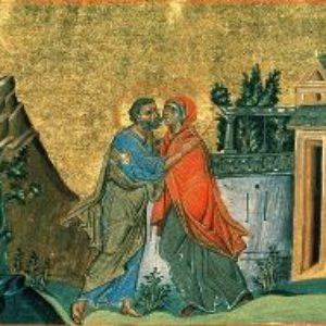 Зачатие праведной Анною Пресвятой Богородицы.