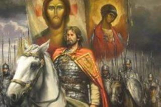 6 декабря-св.блгв.князь Александр Невский-всенощное бдение