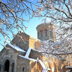 Подвигу святых апостолов подражательница. Бодбийский монастырь святой равноапостольной Нины.