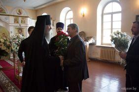 Архиепископ Димитрий возглавил Божественную литургию в Свято-Успенском кафедральном соборе г.Витебска.