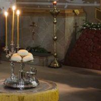 В Неделю 33-ю по Пятидесятнице Высокопреосвященнейший архиепископ Витебский и Оршанский Димитрий совершил всенощное бдение в храме св.вмц.Ирины