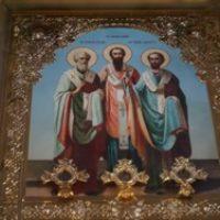 Архиерейская служба в честь Праздника Обрезания Господня и дня памяти свт.Василия Великого