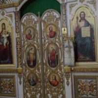 В канун праздника Крещения Господня Высокопреосвященнейший архиепископ Витебский и Оршанский Димитрий совершил всенощное бдение в храме св.великомученицы Ирины