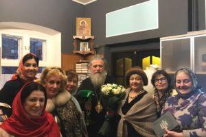Поздравление Высокопреосвященнейшего архиепископа Димитрия с 65-летием.