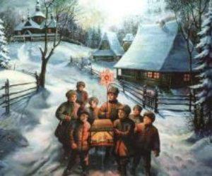 Как традиционно в России праздновали Рождество Христово – главный зимний праздник – и Новый год.