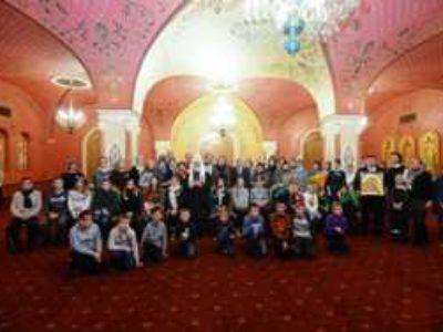Встреча Святейшего Патриарха Кирилла с семьями сотрудников силовых структур, погибших при исполнении служебных обязанностей.