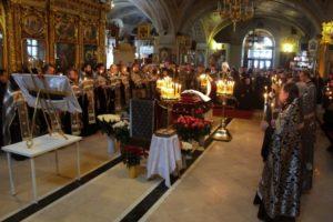 Состоялось отпевание почетного старосты Богоявленского кафедрального собора Н.С. Капчука.