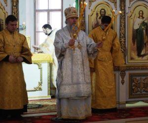 В Праздник Сретения Господня Высокопреосвященнейший Димитрий, архиепископ Витебский и Оршанский, совершил Божественную литургию в храме св.великомученицы Ирины.