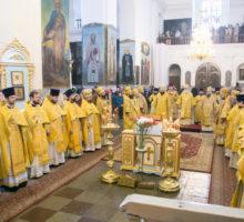 Руководство Витебской духовной семинарии приняло участие в Актовом дне Минской духовной семинарии.