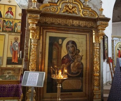 Иконы Божией Матери, находящиеся в Ирининском храме (+ВИДЕО)