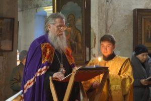 21 марта Высокопреосвященнейший Димитрий, архиепископ Витебский и Оршанский, возглавил чтение Великого покаянного канона прп.Андрея Критского в храме св.Ирины