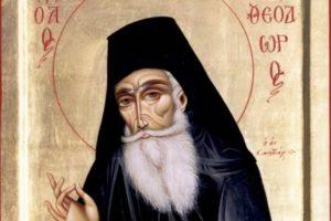 4 МАРТА-память преподобного Феодора Санаксарского