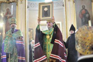 Состоялось прославление в лике местночтимых святых Пюхтицкого монастыря монахини Екатерины (Малков-Паниной)