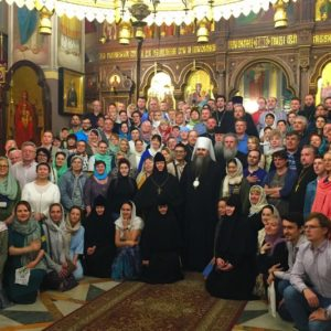 Нижегородские паломники во главе с митрополитом Георгием посетили Иерусалим