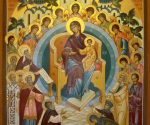 Суббота 21 марта—Похвала Пресвятой Богородице