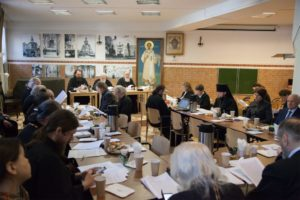 Состоялось заседание комиссии Межсоборного присутствия по церковному просвещению и диаконии