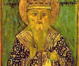 26 марта—перенесение мощей святителя Никифора исповедника, Патриарха Константинопольского