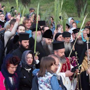 Завершился предпоследний день паломничества делегации Нижегородской епархии на Святую землю.
