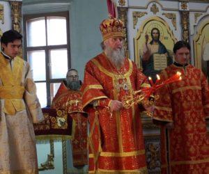 15 апреля, в Неделю Фомину, Антипасху, Высокопреосвященнейший Димитрий, архиепископ Витебский и Оршанский, возглавил Божественную литургию в храме св.Ирины