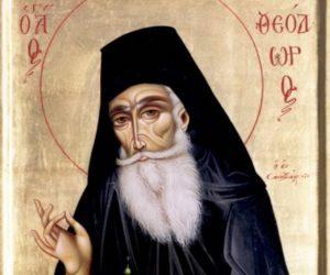 4 мая—обретение мощей преподобного Феодора Санаксарского (1999)
