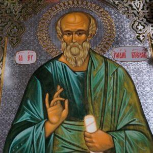В воскресенье 20 мая, накануне празднования памяти апостола Иоанна Богослова, Высокопреосвященнейший Димитрий, архиепископ Витебский и Оршанский, возглавил всенощное бдение в храме св.Ирины