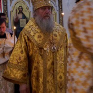 Накануне дня памяти святых равноапостольных Кирилла и Мефодия Высокопреосвященнейший Димитрий, архиепископ Витебский и Оршанский, совершил всенощное бдение в храме св.Ирины