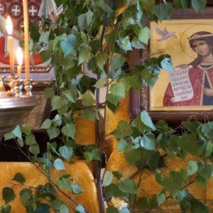 Праздник св.Троицы в храме св.великомученицы Ирины
