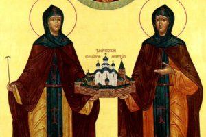 16 мая—память преподобных Иулиании и Евпраксии Московских