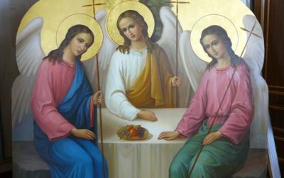 Воскресенье 27 мая--Троица--престольный праздник храма святой великомученицы Ирины. Накануне, в субботу 26 мая--всенощное бдение в 17.00, в воскресенье Божественная литургия: ранняя-7.00, средняя-8.30, поздняя--10.00