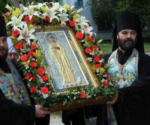 13 июня Русская Православная Церковь совершает празднование иконе Божией Матери «Луганской».