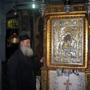 24 июня—празднование иконе Божией Матери «Достойно есть» («Милующая»)