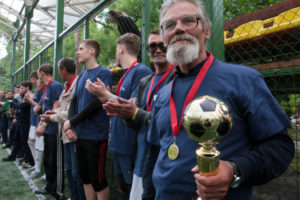 В Москве провели первый чемпионат по футболу среди бездомных людей