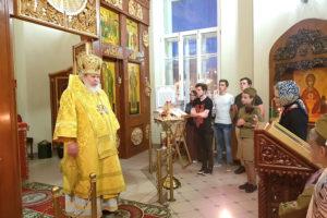 В День памяти и скорби в храме на Киевском вокзале совершена Литургия